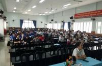 Huyện Đoàn Hóc Môn tổ chức học tập các bài lý luận chính trị cho đoàn viên mới kết nạp năm 2020