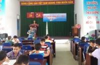 Tân xuân - hội thi cờ tướng hè cấp xã năm 2016